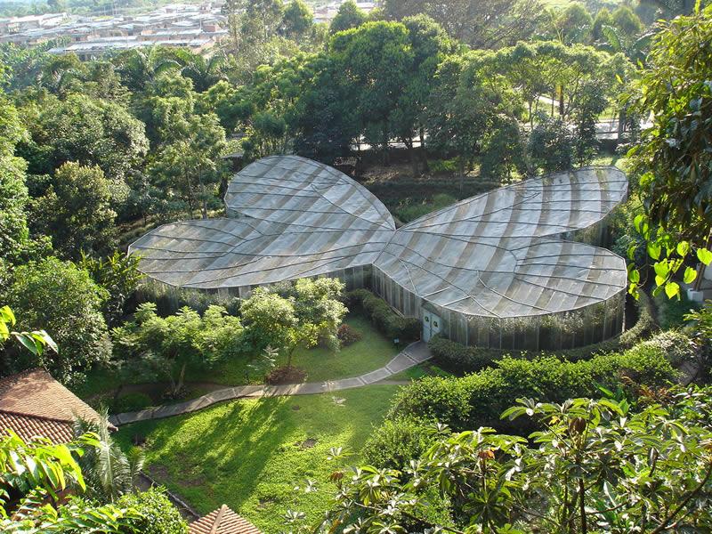 Jardín Botánico del Quindío Mariposario