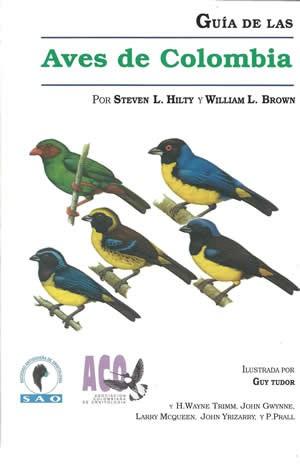 Libro guía de aves de Colombia
