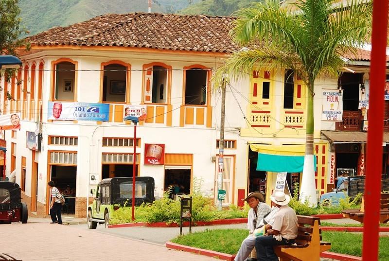 Casas típicas de Génova Quindío