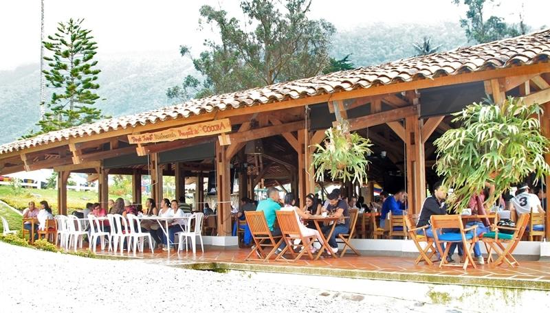 Mejores Restaurantes del Quindío Donde Juan B en Valle de Cocora Salento