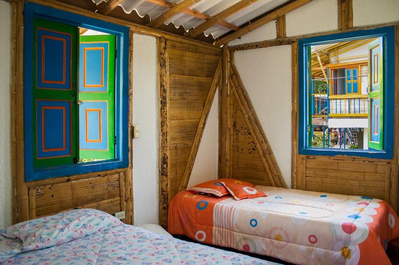 Habitaciones de las Fincas Cafeteras y Turísticas del Quindío