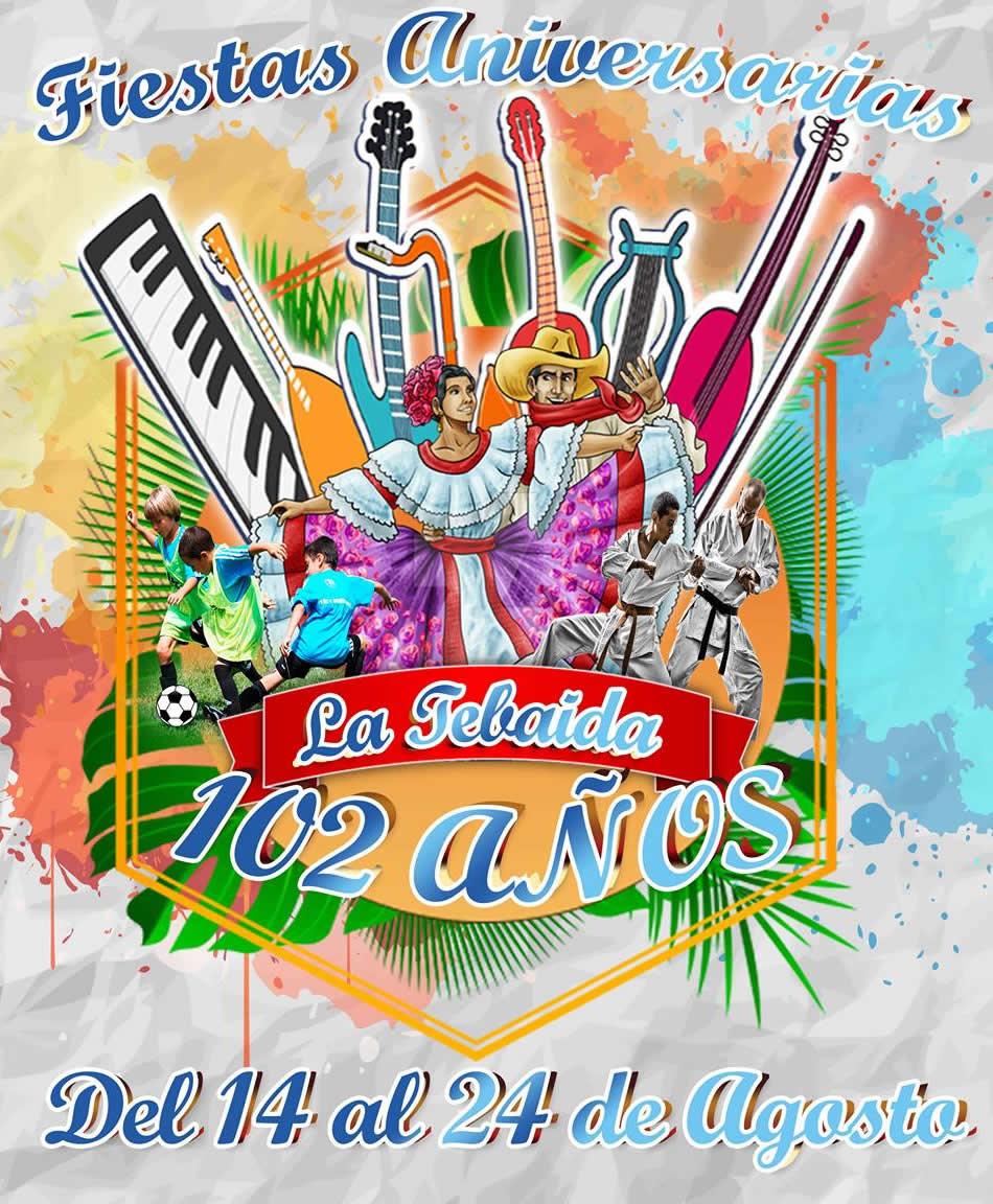 Fiestas en La Tebaida 103 años Programación Oficial 2019