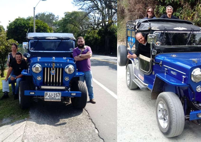 Tour en Jeep Willys por el Quindío y el Eje Cafetero