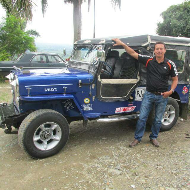 tour en el jeep de David